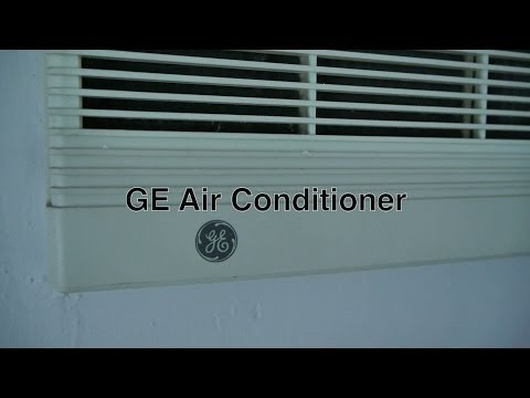 ge-window-air-conditioner-mounted-in-room-wall-as-cheap-alternative-to-ductless-or-central-air-units