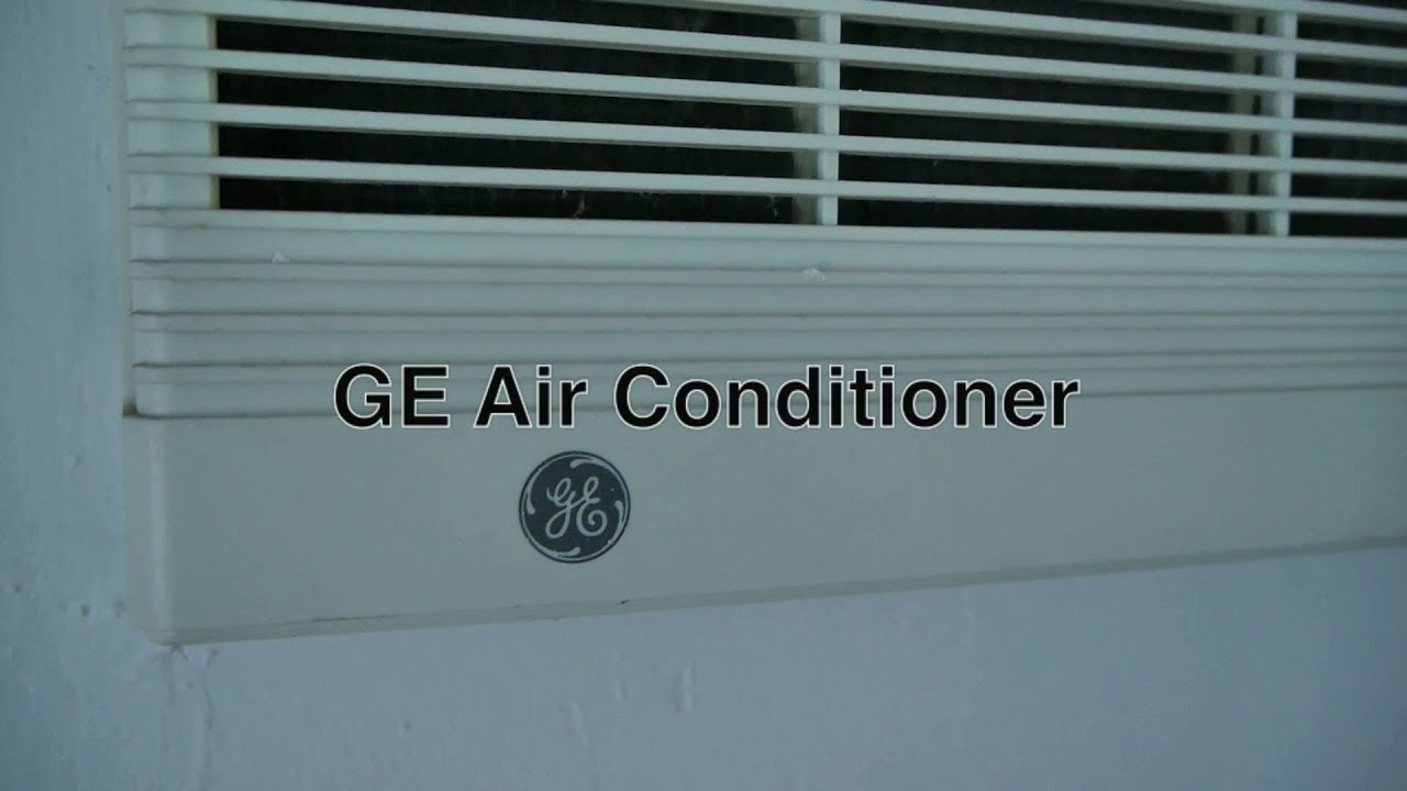 GE Window Air Conditioner Mounted in Room Wall as Cheap Alternative to  #151C1A