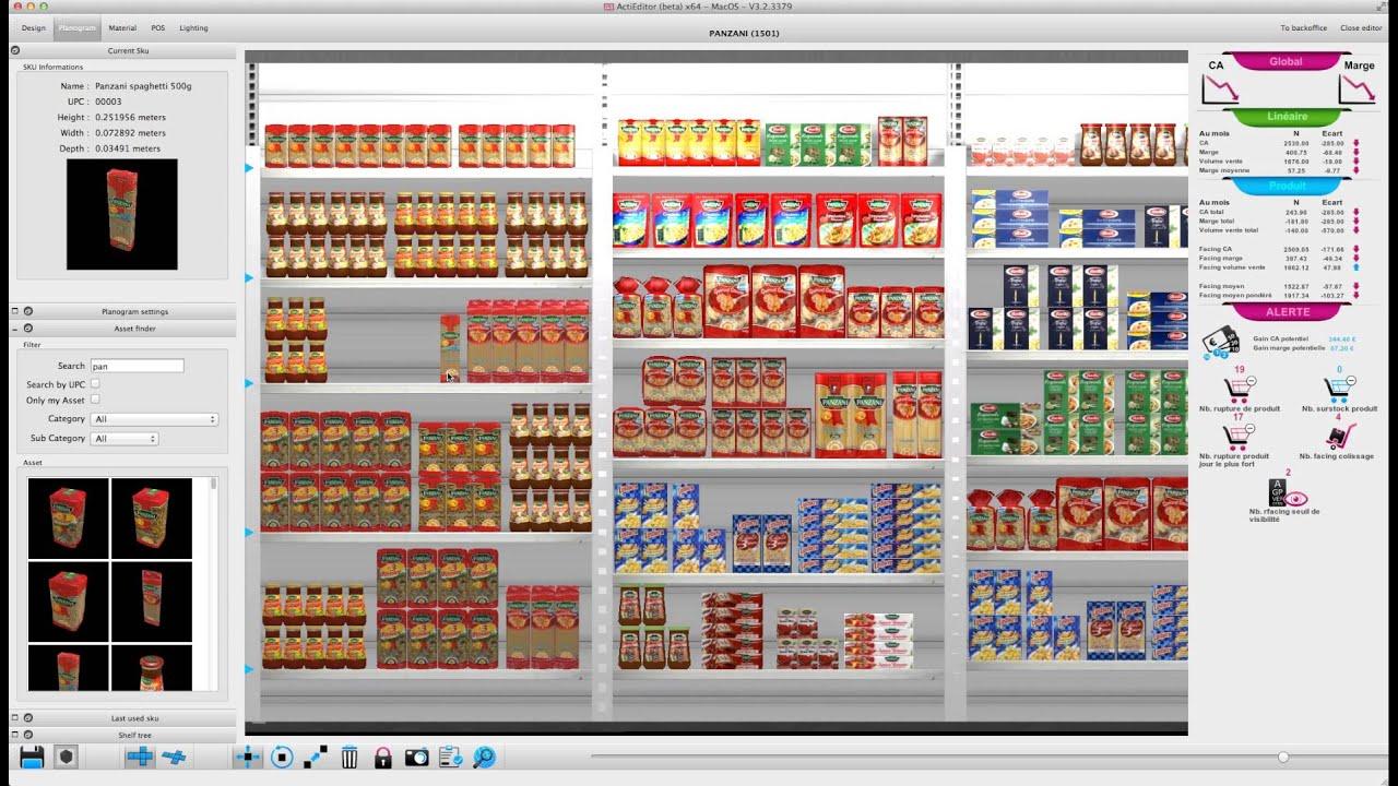 Klee3d Merchandising