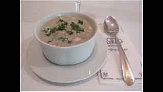 ГРИБНОЙ СУП. Крем-суп из шампиньонов.