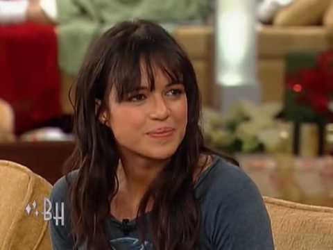 Michelle Rodriguez on The Bonnie Hunt Show