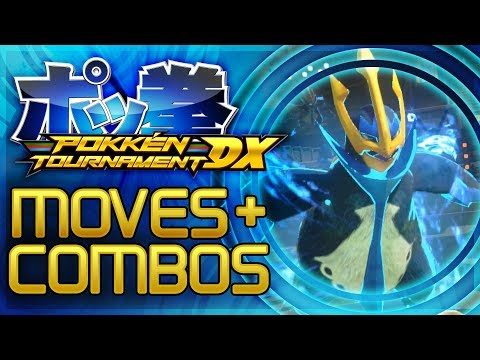 Pokken Tournament DX - ALL Empoleon Moves + Combos! [Nintendo Switch Gameplay]