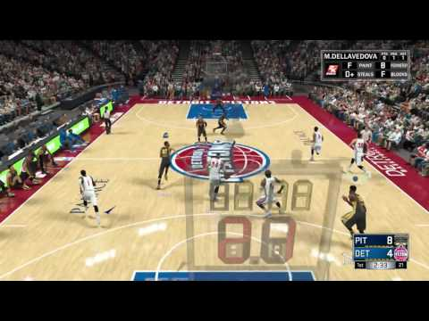 NBA 2K17 PITTSBURGH FORCE MyGM EP:2 THE DEBUT VS THE PISTONS