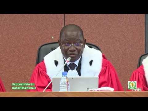 VIDEO VERDICT Procès Hissene Habré (30 mai 2016)