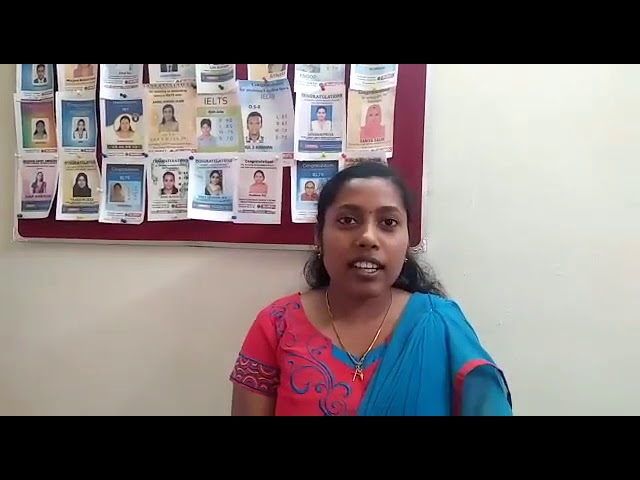 Nisha Mohan DHA Nursing, Testimonial BeMax Academy- Best Coaching for HAAD, DHA, Centre in Kerala
