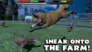 Ultimate Fox Simulator- Part 2 -The Farm - By  Gluten Free Games - Simulation - IOS/Android