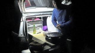Wohnen im Auto | Kochen im Auto Camper