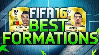 FIFA 16 - THE BEST MOST OVERPOWERED FORMATIONS + INSTRUCTIONS - FIFA 16 ULTIMATE TEAM