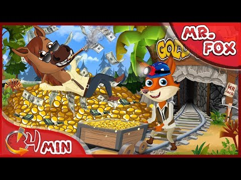 Mr Fox ~ Jack the Business-Horse ~ Mr Fox Funny Cartoon for kids [4K]
