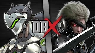 Genji VS Raiden (Overwatch VS Metal Gear) | DBX