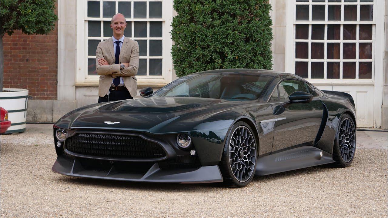 The New Aston Martin Victor 836hp Manual V12 Youtube