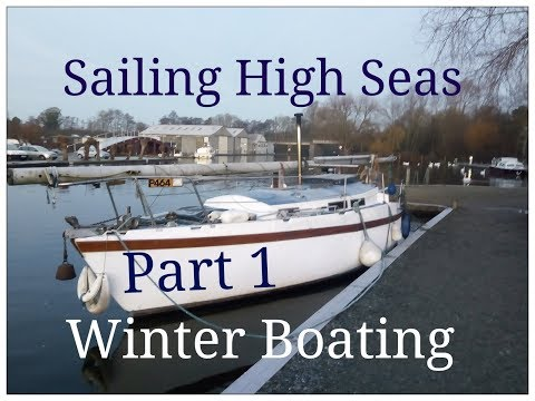 Winter Boating Part 1-Sailboat Liveaboard Vlog Ep 67