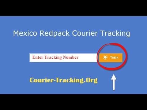 Mexico Redpack Courier Tracking Guide