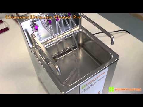 Cleansonic Ultrasonic Cleaner Youtube