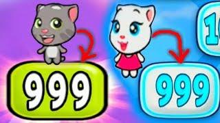 Мой говорящий том #107 Том и друзья Мой виртуальный питомец ИГРА МУЛЬТИК про котиков #УШАСТИК KIDS