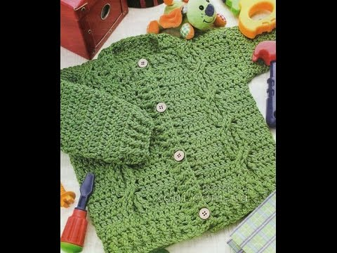 Crochet Patterns For Free Crochet Cardigan Pattern Baby 2335