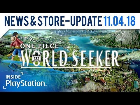 One Piece World Seeker: Neue Charaktere bestätigt!   PlayStation News & Store Update