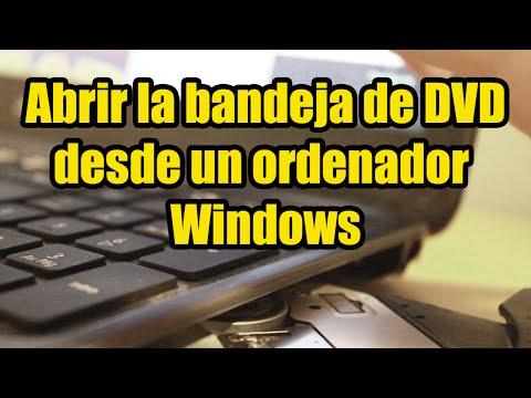 Abrir la bandeja de DVD (y comprobar si tienes) desde el ordenador en cualquier Windows