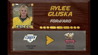 Rylee Gluska -  MFHL to ACAC | Stand Out Sports Client Hall of Fame