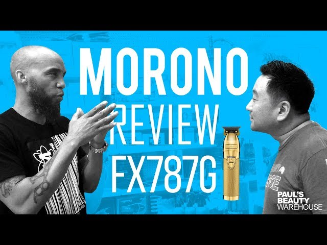 Babyliss Gold Trimmer FX787G Skeleton! Morono M1 Innovation Review