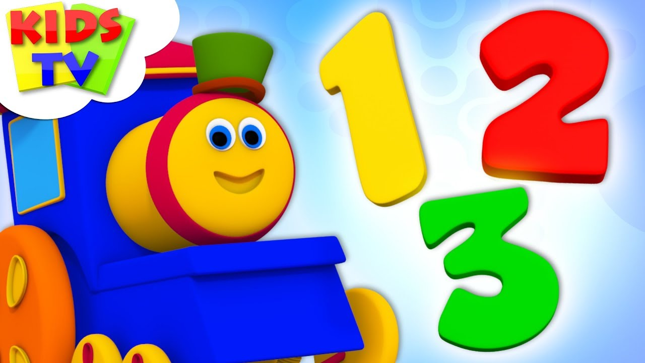 Download The Numbers Song With Bob The Train | Counting Numbers 123 & Learning Videos For Children By Kids Tv