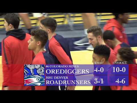 Men's Basketball at #6 Colorado Mines - MSU Denver