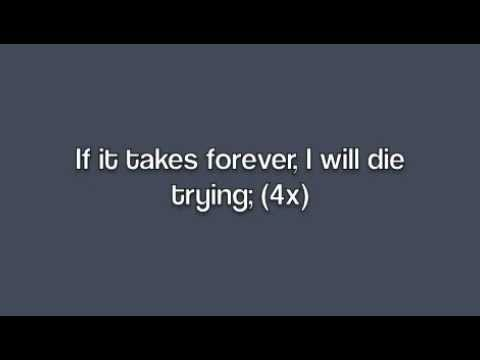 Die trying lyrics