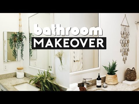 EXTREME ROOM MAKEOVER! DIY BATHROOM TRANSFORMATION ON A BUDGET | Nastazsa
