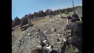 MOST EPIC PUSH! Gopro Airsoft: Frontline Action D-Day #2!