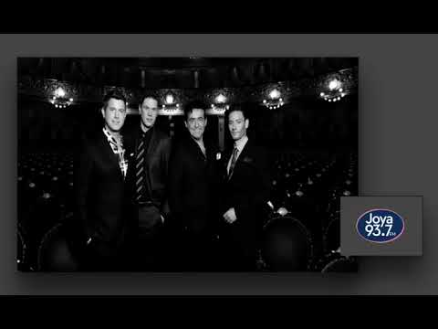 IL DIVO Interview Joya 93 7 FM Radio Mexico 18-4-2018