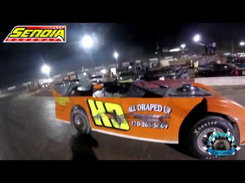 #K3 Dow Kirkland - Crash - Crate - 11-12-16 - Senoia Raceway - In-Car Camera