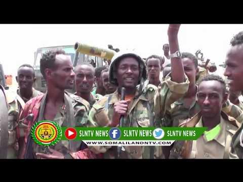 Askari Kamida Ciidanka Jiida Hore Ee Somaliland Oo Tix Gabaya Ku Cabiraya Guushay GaadheeN