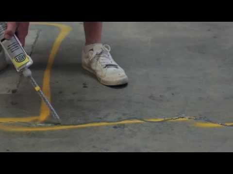 Ardex Ra 56 Small Hairline Crack Repair In Concrete Floors