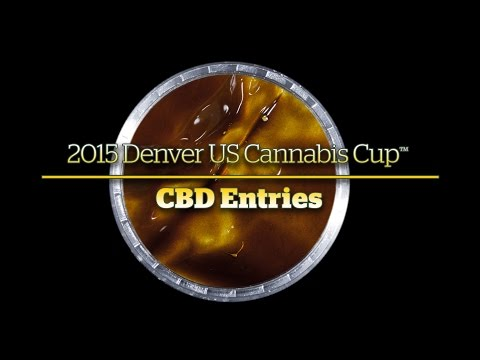 2015 Denver Cannabis Cup: CBD Entries