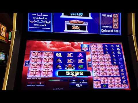 Zeus 1000 Slot Bonus at L'Auberge Casino in Lake Charles