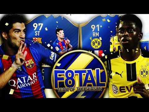 FIFA 17: F8TAL TOTS SQUAD BUILDER SHOWDOWN ⚽🏆 TOTS SUAREZ VS TOTS DEMBELE