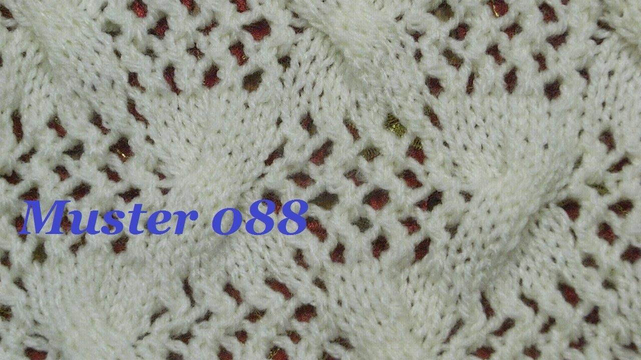 Muster 088*Stricken lernen*Ajourmuster Muster für Pullover ...