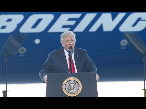 Trump Full Speech at Boeing 787 Dreamliner Unveiling | ABC News