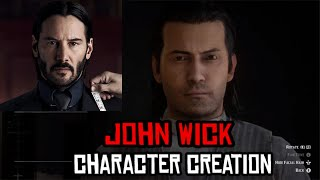 Red Dead Online  John Wick (Character Creation)