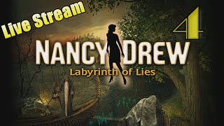 LIVE STREAM - Nancy Drew 31: Labyrinth of Lies [04] w/YourGibs - Part 4 (second playthrough)