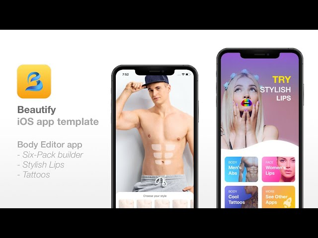 [Download] Beautify – Six Pack Abs, Lips, Tattoo – Photo Editor iOS Nulled