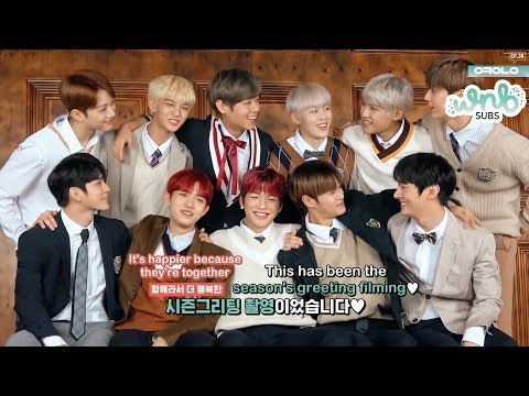 [ENG SUB] 190112 Okay Wanna One Ep 39 - 2019 Season's Greetings Behind by WNBSUBS