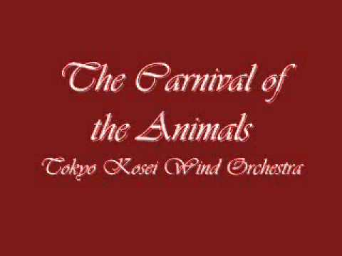 The Carnival of the Animals. Tokyo Kosei Wind Orchestra.