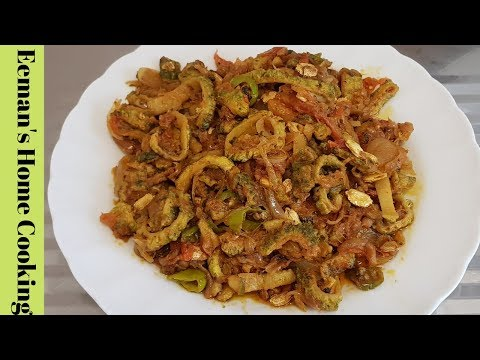Karele ki Sabzi | Crispy Karela Fry Sabzi recipe | Bittergourd Onion Sabzi | Easy & Tasty karela