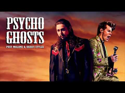 Post Malone Vs Harry Styles - Psycho Ghosts Roly G Productions