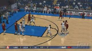 College Hoops 2K7 PlayStation 3 Gameplay - UCLA Vs. USC