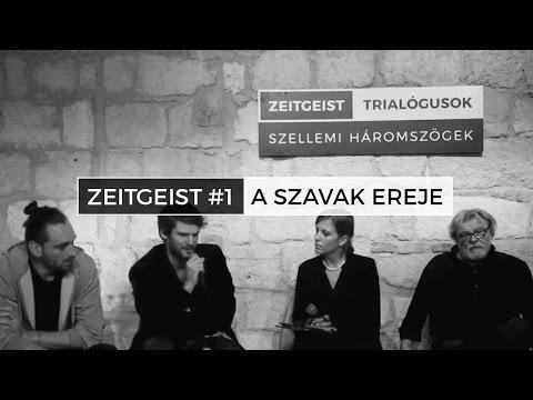 Zeitgeist Masterclass #1 | A szavak ereje – Parti Nagy Lajos, Závada Péter, Simon Márton