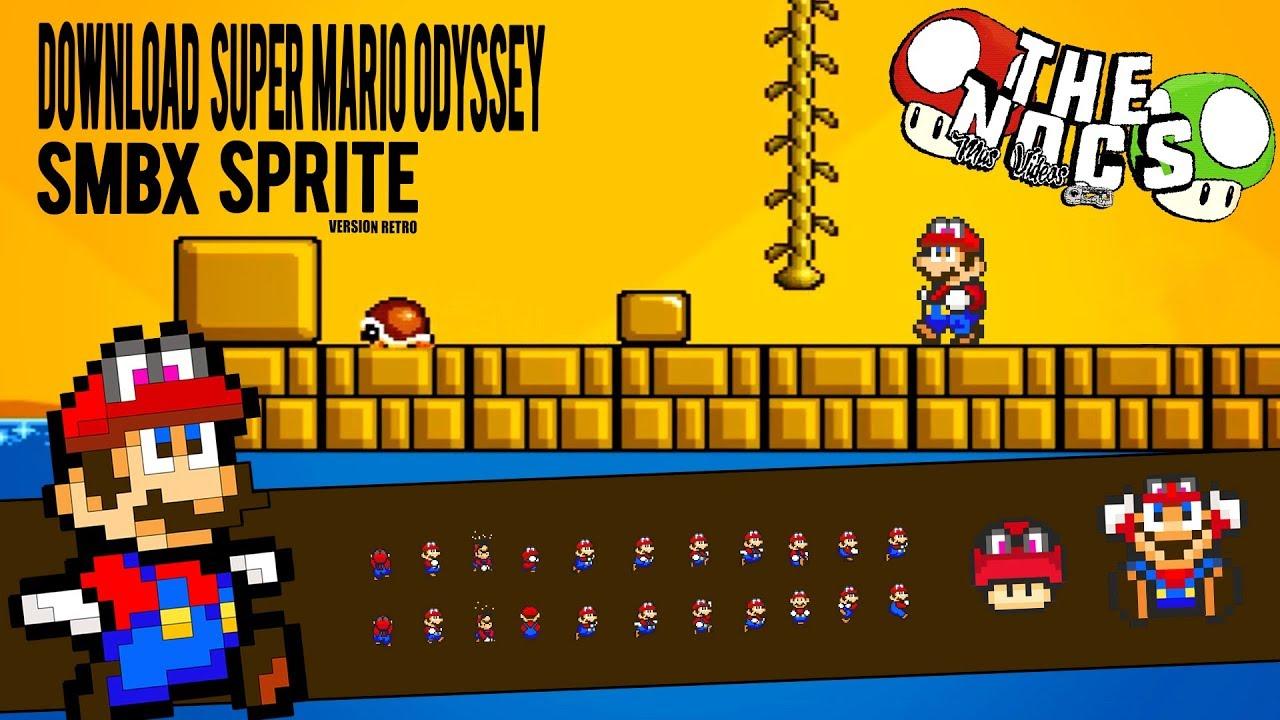 Super Mario Odyssey Version Retro 8 Bits Sprite Smbx Thenocs