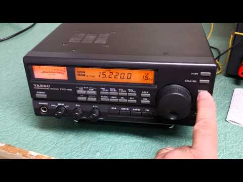 Yaesu FRG-100 Communications Receiver
