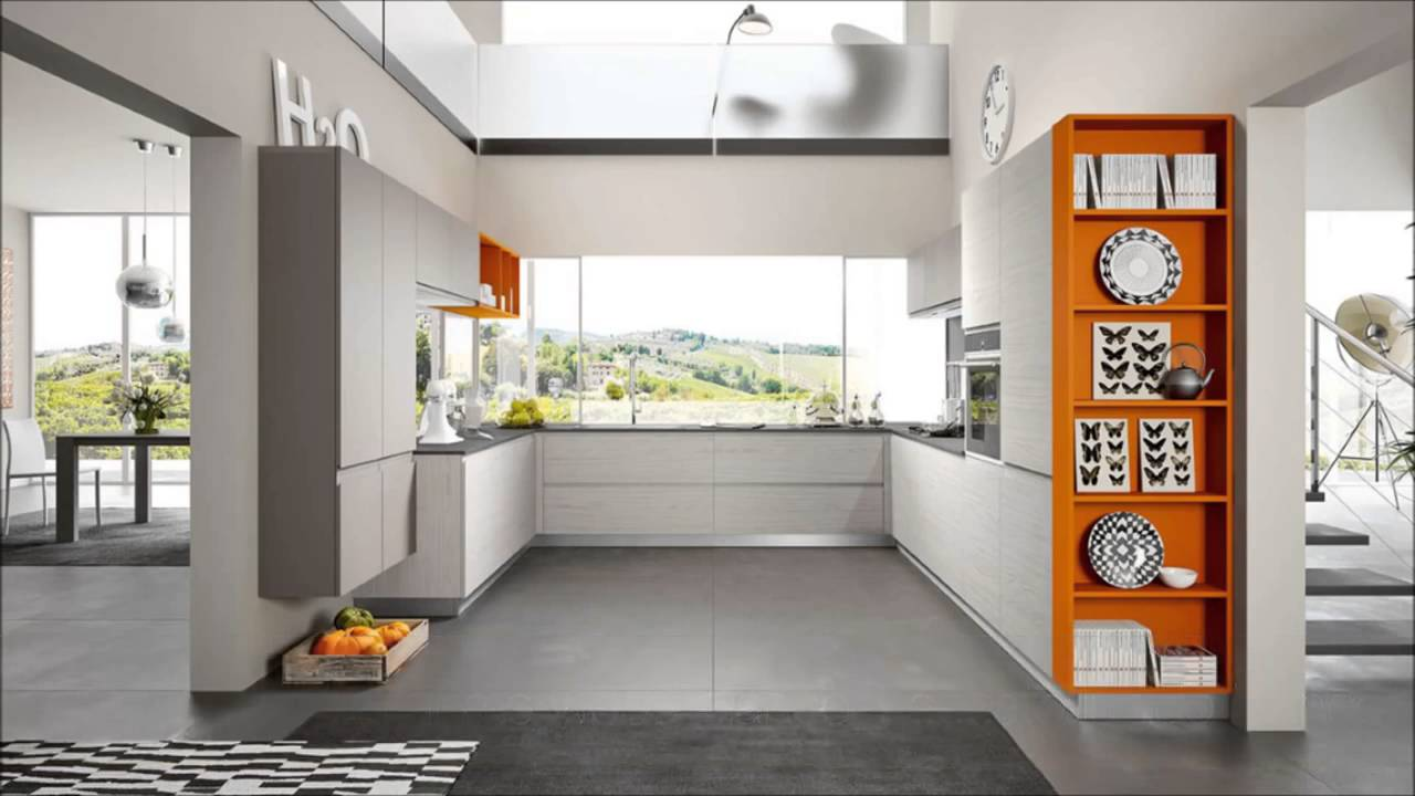 Arredo3 WEGA Modern Kitchen   YouTube